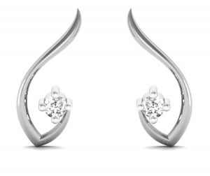 Avsar Real Gold And Diamond Jammu Earring ( Code -uqe001wn )