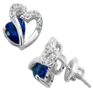 Kiara Swarovski Elements White Gold Plated Earring Vae001