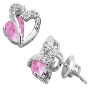 Kiara Swarovski Elements White Gold Plated Earring Vae014