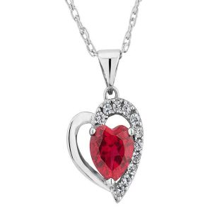 Sterling Silver Pendant Made With Swarovski Zirconia Vap004
