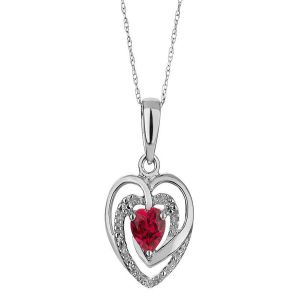 Sterling Silver Pendant Made With Swarovski Zirconia Vap008