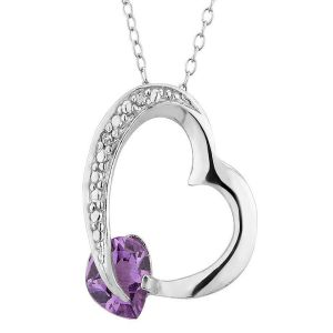 Sterling Silver Pendant Made With Swarovski Zirconia Vap013
