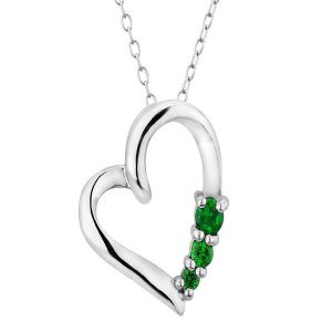 Sterling Silver Pendant Made With Swarovski Zirconia Vap015
