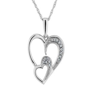 Sterling Silver Pendant Made With Swarovski Zirconia Vap018