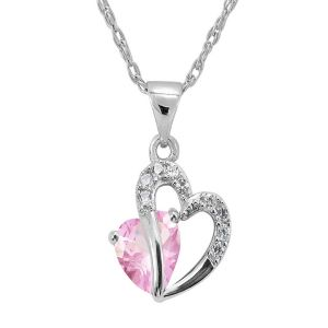 Sterling Silver Pendant Made With Swarovski Zirconia Vap023