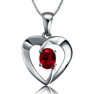 Sterling Silver Pendant Made With Swarovski Zirconia Vap057