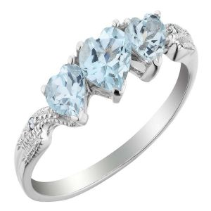 Kiara Sterling Silver Ring Made With Swarovski Zirconia Var031