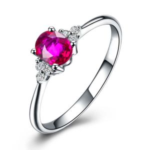 Kiara Sterling Silver Ring Made With Swarovski Zirconia Var038
