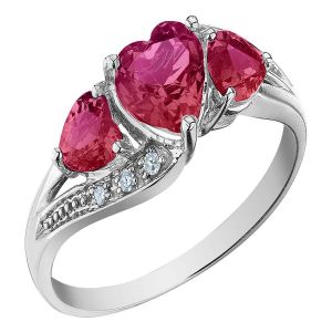 Kiara Sterling Silver Ring Made With Swarovski Zirconia Var042
