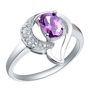 Kiara Sterling Silver Ring Made With Swarovski Zirconia Var047
