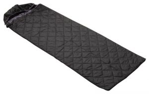 Harissons Sleep Sac 225 Cm Reversible Sleeping Bag (black, Grey)