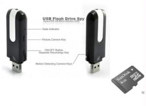 Spy Dvr Pen Drive Hidden Video Camera 4 GB Msd