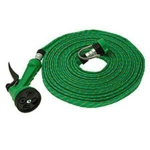 Car Cleaning Products - 20 Meter Flat Hose Water Gun Spray Car Wash Garden
