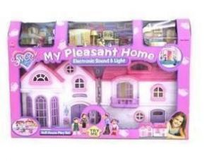 Doll House Play Set Toys For Little Girls Gift Item