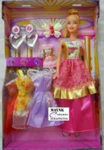 Dolls, Doll Houses - Doll, 3 Dresses Set, Small Baby Infant Girl, Kids Toys For Girls Gift Item