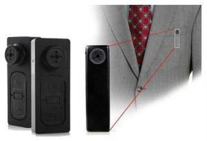 Spy Button Camera With AV & Still Image Recording