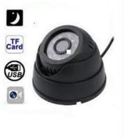 Cctv IR Dome Camera Kit With Inbuilt Recording Card Slot Nightvision Dvr
