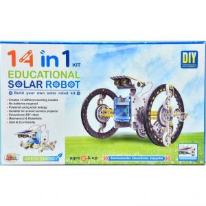 Ekta 14 In 1 Educational Solar Robot Kit