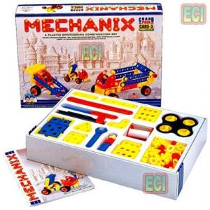 175pcs Mechanix Cars 3 Engineering Toy Set Age 3-6