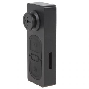 Perfecto Spy Button Camera With Audio Video Recording