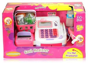 Kids Cash Register Master Size With All Accessories
