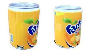MP3 Accessories - Fanta Can Mini Audio MP3 /fm Radio Player/speaker/ Box Tf/micro SD Card