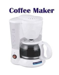 Tea & coffee maker - Coffee Maker With 5 Cups Capacity
