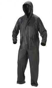 Rainwear for men - Full Body Gents Raincoat, 3 Peace Set Rain Suit. Jacket Coat, Trouser & Cap