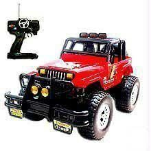 Remote Controlled Road Jeep Monster