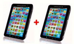 Set Of 2 P1000 Kids Educational Tablet