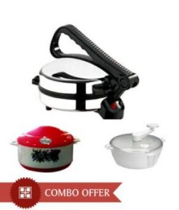 Kitchen Premium Quality Combo - 1 Dough Maker, 1 Roti Maker, 1 Casserole