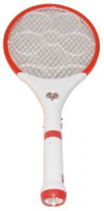 Dm Rechargeable Mosquito Bat With Detachable LED Torch
