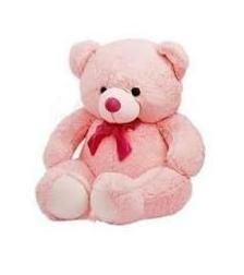 5 Feet Teddy Bear Pink In Colour