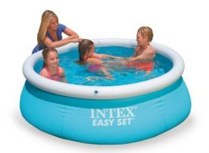 Intex Easy Set Swimming Pool Kids Playing - 28101 6ft X 20 In