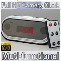 24 Hrs Recording Spy Table Clock Camera -1920x1080, Hdmi Out