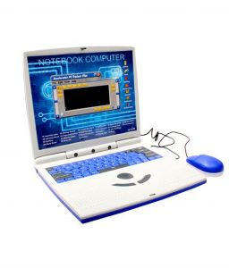 Superslim 22 Educational Activities Talking Kids Laptop