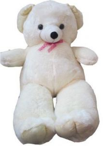 Soft Toy Teddy Bear Butter/cream 60 Inches
