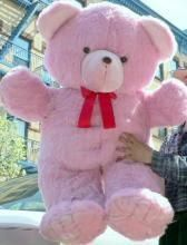 Life Size Teddy Bear Pink Colour 6 Feet Approx