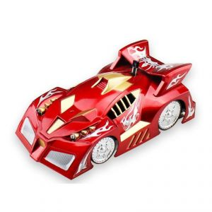 Electric Remote Control Wall Climbing Car & Floor Drive Racing Rechargeable Car With 360 Rotation (red)