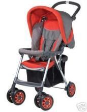 An Extrelemely Light-weight Stroller Made With An Alluminium Alloy With Ext