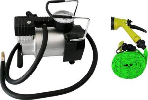 Indmart Car Air Compressor , Water Pressure Gun Combo