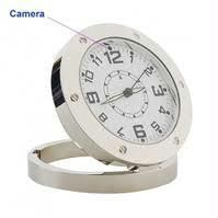 Spy Table Clock Camera With 4 GB Card
