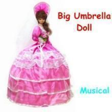 Musical Umbrella Doll