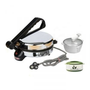 Czar New Roti Maker With Dough & Casarole Combo Pack