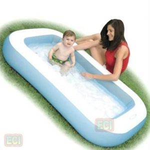 Rectangular Baby Pool Intex Inflatable Water Tub