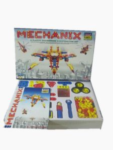 Mechanix Planes 3 , 15 Models 180 PCs Plastic Engineering Construction Set
