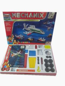 Metal Mechanix 5, 25 Models & 301 PCs Engineering Construction Set