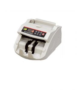 Office Automation Products - Automatic Money Counting Machine With Built-in Fake Note Detector Counter