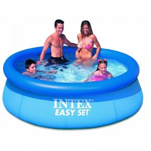 Inflatable Toys - Skunk Online Intex 8 Feet Inflatable Above Ground Family Kids Swimming Pool