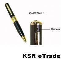 Ksr Etrade Spy Pen Camera Voice Video Recorder
